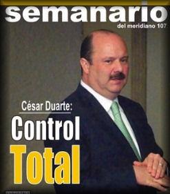 Portada del Semanario del Meridiano No. 107