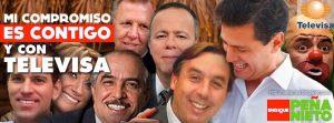 """Televisa """"patrocinó"""" la campaña presidencial de Enrique Peña Nieto."""