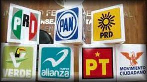 De los 7 partidos políticos con registro en Chihuahua, el PRI va en alianza con 5.