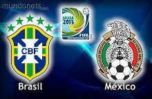 Brasil vs México confederaciones