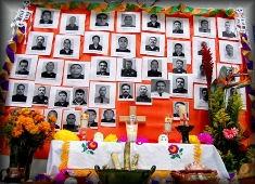 Nov. 2012.- Altar a policías de Chihuahua capital, caídos en cumplimiento del deber.
