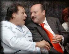 JuanGa y César Duarte / Foto: hilodirecto.com.mx