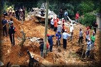 """Alud sepultó a la comunidad """"La Pintada""""en el estado de Guerrero / Foto: Reuters."""
