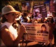 Vigilia en conmemoración del Día Internacional de las Víctimas de Desapariciones Forzadas.