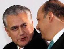 Enrique Serrano y César Duarte. Foto cortesía de: laparadadigital.com