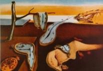 """""""La persistencia de la memoria"""" de Salvador Dalí."""